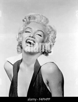Marilyn Monroe / 1952 Los Angeles, California, USA [Gene Komman / 20th Century Fox] - Stock Photo