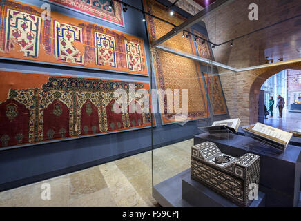 Istanbul Turkey museum Turkish Islamic Ottoman Art Stock ...