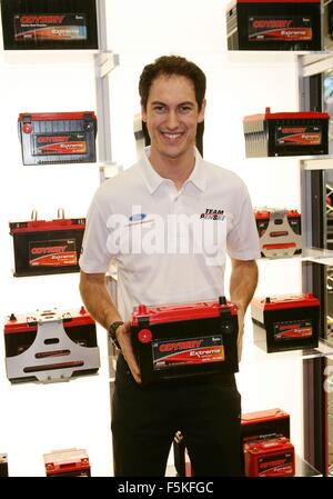 Las Vegas, NV, USA. 5th Nov, 2015. Joey Logano in attendance for The 2015 SEMA Show - THU, Las Vegas Convention - Stockfoto