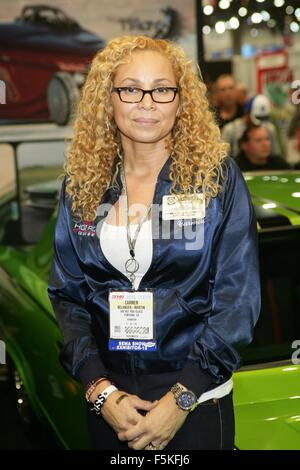 Las Vegas, NV, USA. 5th Nov, 2015. Carmen Belanger-Martin in attendance for The 2015 SEMA Show - THU, Las Vegas - Stockfoto
