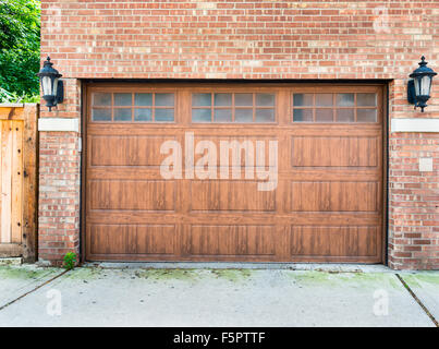 Garage doors on a modern house double doors with windows for High end entry doors