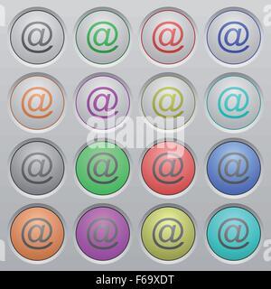 Plastic Alphabet Letter Buttons Uk