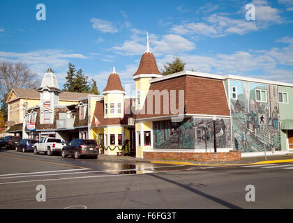 Vancouver Island Town Of Murals