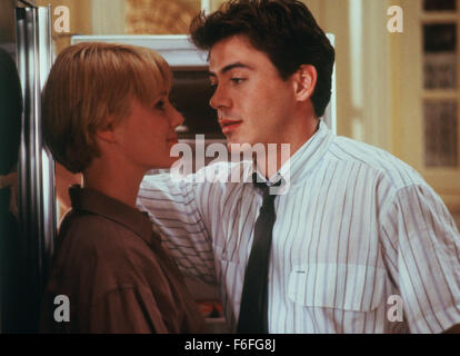 RELEASE DATE: March 10, 1989. MOVIE TITLE: Chances Are. STUDIO: TriStar Pictures. PLOT: Louie Jeffries is happily - Stock Photo