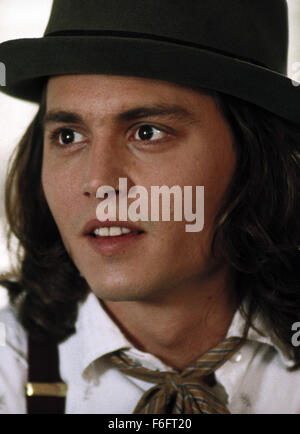 Apr 16, 1993; Spokane, WA, USA; JOHNNY DEPP as Sam in the comic, romance, drama 'Benny and Joon' directed by Jeremiah - Stock Photo