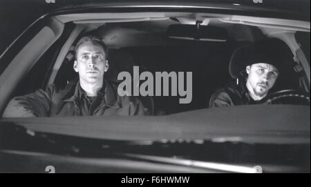 Jul 23, 2002; Hollywood, CA, USA; Actor NICOLAS CAGES as Randall 'Memphis' Raines & GIOVANNI RIBISI as Kip Raines - Stock Photo