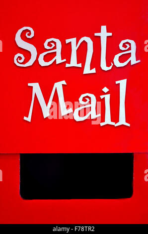 Santa Claus Post Box For Letter To Father Christmas At The