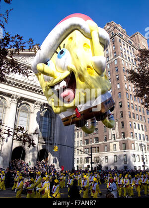 New York, USA. 26th November, 2015. Macy's Day Parade, Thanksgiving Day, New York City Credit:  Frank Rocco/Alamy - Stock Photo