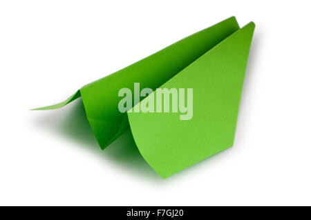 Paper planes on the background - Stock Photo