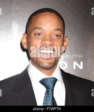 WILL SMITH US film actor in December 2015. Photo Jeffrey Mayer - Stock Photo