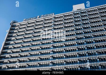 Haus des Berliner Verlags, Berlin, Germany - Stock Photo