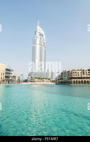The address downtown dubai hotel and residential tower for Top 10 5 star hotels in dubai