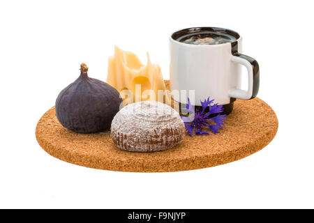 Delicious Fresh Coffee Cake Served With Fresh Rainier