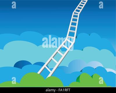 Heaven's Ladder - Stock Photo