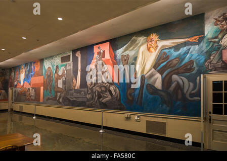 The baker berry library at dartmouth college in hanover for Dartmouth mural