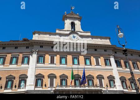 Italian parliament building palazzo di montecitorio rome for Palazzo camera dei deputati