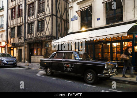 Paris france trendy french restaurant georges top of pompidou stock photo royalty free image - 17th century french cuisine ...