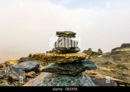 Mountain Matterhorn, Monte Cervino, Mont Cervin, 4.478 m, Pennine Alps, Zermatt, Valais, Switzerland - Stock Photo