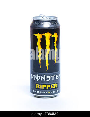 Monster Energy Drink Crushed