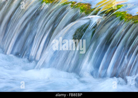 Stream, water close up - Stock Photo