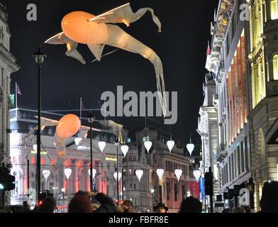 London, UK. 15th Jan, 2016. Lumiere London FestivalLondon EnglandThe UK's Largest Festival Credit:  Sophie Tagg/Alamy - Stock Photo