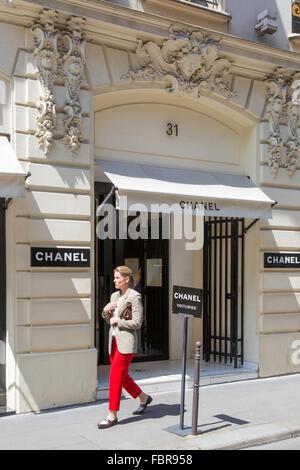 Coco Chanel S Original Store Location 31 Rue Cambon