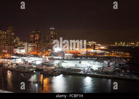 A view of the USS Intrepid Sea Air and Space Museum Stock ...