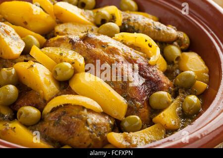 Traditional moroccan dish food tajine tagine or tajin for Authentic moroccan cuisine