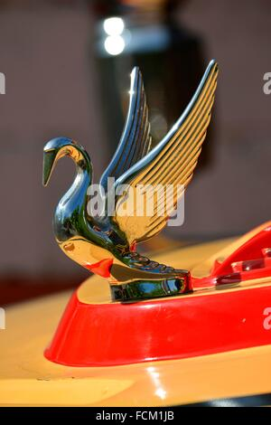 Car Logo With Bird Vintage Guatemala Central America Stock Photo
