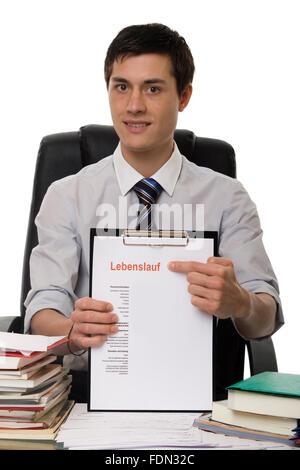 recruitment,resume - Stock Photo