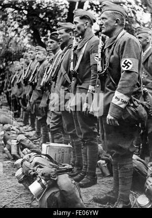 Nazism National Socialism Organisations Schutzstaffel