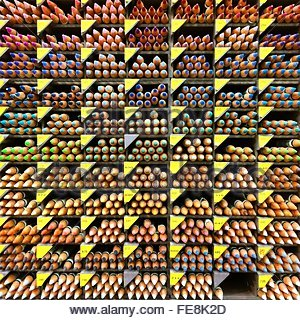 Detail Shot Of Colored Pencils - Stockfoto