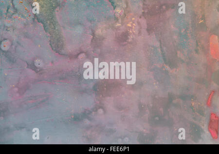 abstract multicolored  painted background texture - Stock Photo