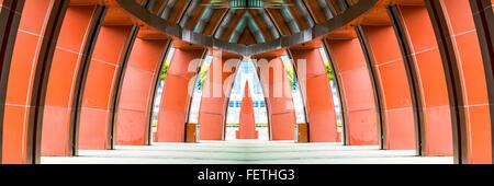 Concrete arch structure - Stockfoto