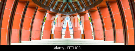 Concrete arch structure - Stock Photo