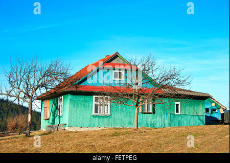 Traditional wooden house in mountains poland stock photo royalty free image 52530988 alamy - Traditional polish houses wood mastership ...