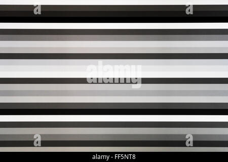 Black and white tv screen lines static noise, abstraction background backdrop - Stockfoto
