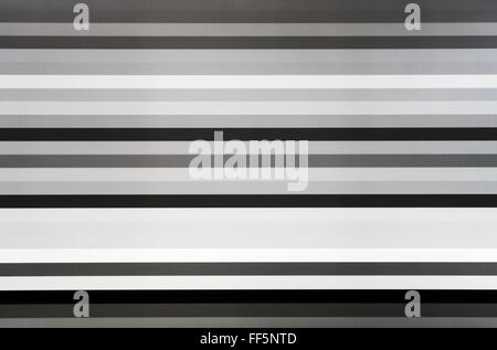 Black and white tv screen lines static noise, abstraction background backdrop - Stock Photo