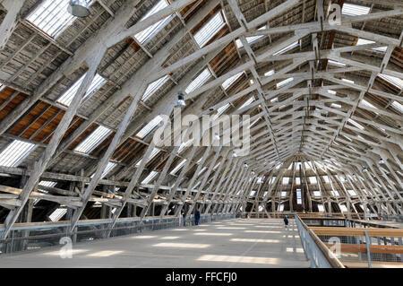 Mezzanine floor, No 3 Slip Cover Chatham Historic Dockyard, Kent, England, UK. - Stock Photo