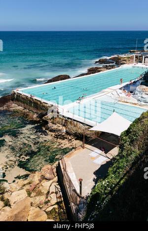 Bondi Icebergs Swimming Pool, Bondi, Sydney, Australia - Stockfoto