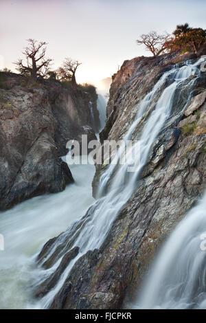 Epupa waterfall - Stock Photo