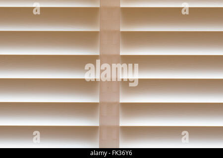 Closed Venetian Blinds background - Stock Photo