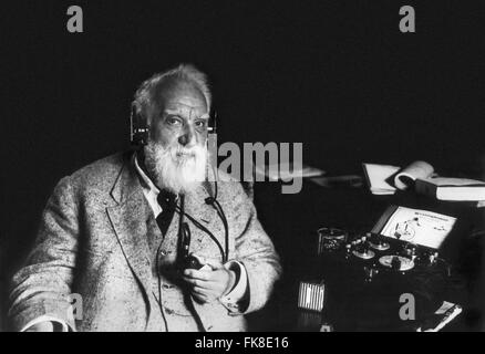 Alexander Graham Bell, c. May 1922 - Stock Photo