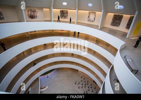 The Guggenheim Museum New York City - Stock Photo