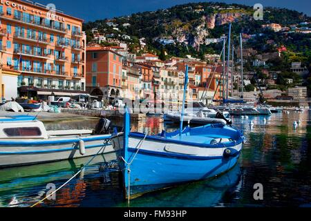 France, Alpes Maritimes, Village of Villefranche sur Mer - Stockfoto
