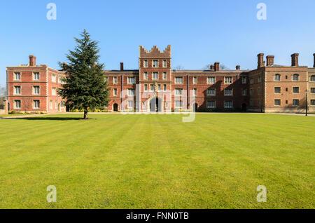 Jesus College, University of Cambridge, Cambridge, England, UK. - Stock Photo