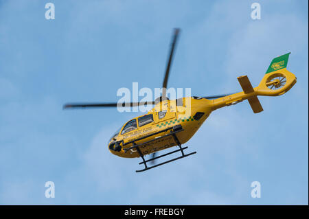The Hampshire And Isle Of Wight Air Ambulance Brings In A