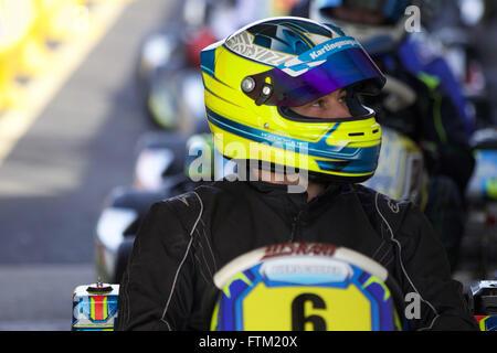 Kart Driver - Stock Photo
