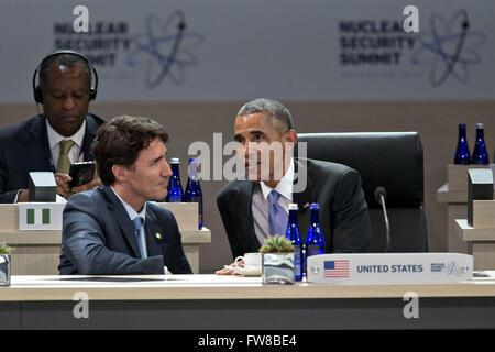 April 1, 2016 - Washington, District of Columbia, United States of America - United States President Barack Obama, - Stock Photo