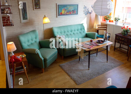 swedish middle class home stock photo royalty free image 76769157 alamy. Black Bedroom Furniture Sets. Home Design Ideas